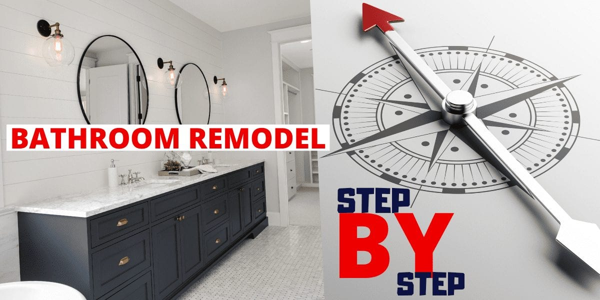 Bathroom Remodel. Step By Step