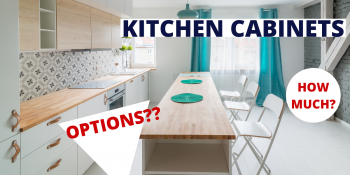 Kitchen Cabinets Materials. How Much Do They Cost? Pros And Cons Of Each One.