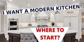 How Get A Modern Kitchen In A Kitchen Remodel?