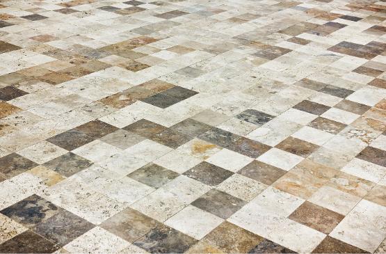 Tile Flooring.
