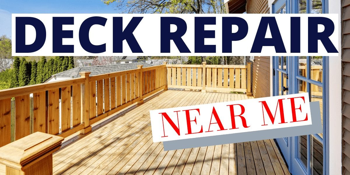 deck repair near me