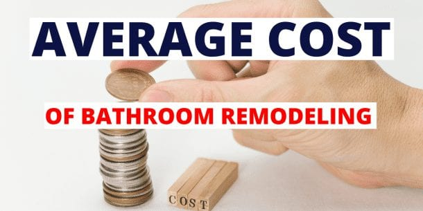 average cost of bathroom remodel