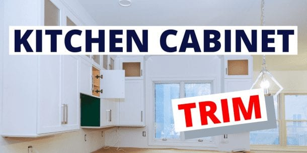 kitchen cabinet trims
