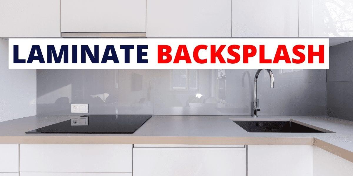 laminate backsplash