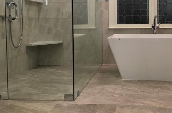 free barrier shower